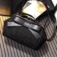 Jual Persegi Kecil Korea Fashion Style Baru Tas Mini Lingge Tas Tali Rantai Tas Wanita Hitam Tiongkok Murah