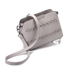 Jual Beli Fang Fashion Bag On The New Style Women Bag Wild Messenger Bag Abu Abu Untuk Mengirim Clutch Paket Paket Kartu Baru Tiongkok