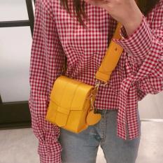 Persegi Kecil Tas Handphone Tas Selempang Candy Tas Bahu dengan Satu Tali Siswa