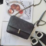 Model Persegi Kecil Retro Perempuan Baru Mini Messenger Bag Ran Tas Tas Abu Abu Gelap Terbaru