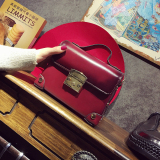 Persegi Kecil Retro Perempuan Baru Tas Messenger Tas Tas Merah Oem Diskon 40