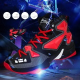 Jual Beli Online Personality Couple Basketball Shoes Fashionable And Comfortable Trend Of The Youth Lightsome Breathe Freely Outdoor Sports Shoes Prevent Slippery Wear Resisting Leisure Intl
