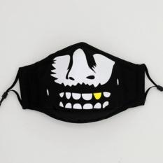 Ulasan Kepribadian Masker Musim Gugur Dan Musim Dingin Three Dimensional Pm2 5 Pria Dan Wanita Kartun Lucu Kapas Bernapas Naik Dustproof Hangat Haze Intl