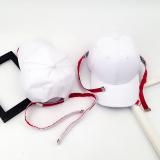 Diskon Pg Korea Fashion Style Laki Laki Pita Panjang Topi Baseball Topi Putih Dua Akar Pita Panjang Branded