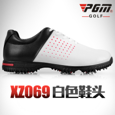 Spesifikasi Pgm Sepatu Golf Microfiber Anti Air Putih Toe Merk Pgm