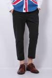 Harga Ph 02 Lepas Chino Pants Rambut Pergelangan Kesemek Panjang Hitam Yang Bagus