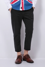 Jual Ph 02 Lepas Chino Pants Rambut Pergelangan Kesemek Panjang Hitam Not Specified