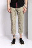 Review Ph 04 Casual Chinos Ankle Panjang Straight Pants Hijau Tiongkok