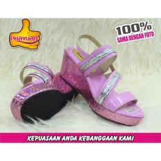 Harga Phayuan Sandal Anak Perempuan Fashion K16A Baby Pink Selop Wedge Dan Spesifikasinya