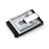 Review Terbaik Phoebe Pria Wanita Aluminium Tipis Id Pelindung Kartu Kredit Pemegang Dompet Dompet Uang Klip Hitam Intl