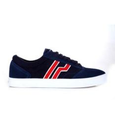 Penawaran Istimewa Piero Benihana Sneakers Olahraga Pria Navy Red White Terbaru