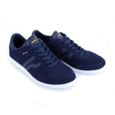 Piero Sepatu Sneakers P10576 MILAN - NAVY WHITE GOLD