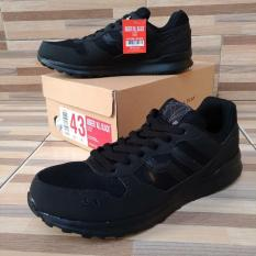 Piero Sepatu Sneakers P20323 JOGGER ALL BLACK - ALL BLACK