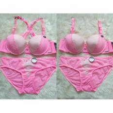 Toko Pierre Cardin Bra S*xy Tali Lace Pink Online Di Indonesia