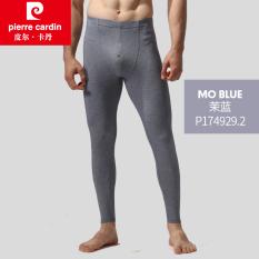 Pierre Cardin Pria Musim Dingin Satu Potong Bagian Tipis Celana Celana Celana Panjang Johns (Mo Biru 10670)