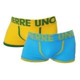 Jual Pierre Uno Celana Dalam Pria Seamless Trunks 012 No Box Kuning Dan Biru Langit 2 Pcs Grosir