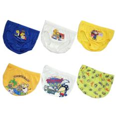 Spesifikasi Pierre Uno Kids Value Pack Celana Dalam Anak Laki Laki Builder Pirate 6 Pcs Murah Berkualitas