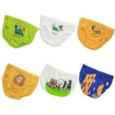 Cuci Gudang Pierre Uno Kids Value Pack Celana Dalam Anak Laki Laki Dino Dan Team Cat 6 Pcs
