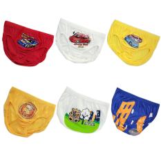 Spesifikasi Pierre Uno Kids Value Pack Celana Dalam Anak Laki Laki Race Car Dan Team Cat 6 Pcs Terbaru