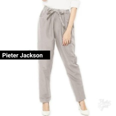 Jual Pieter Jackson Celana Kantor Casual Poplyn Cokelat Susu Pieter Jackson Di Jawa Barat
