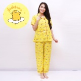 Review Pink Bunny Label Piyama Katun Gudetama Pjg Yellow Indonesia