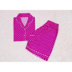 Harga Pink Fanta Polkadot Shortpants Pajamas Terbaru