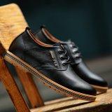 Harga Pinsv Genuine Leather Pria Perhiasan Logam Campuran Bisnis Sepatu Kasual Black Eu 37 Terbaik