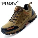 Spesifikasi Pinsv Hiking Sepatu Pria Spring Hiking Boots Mountain Pendakian Sepatu Outdoor Sport Shoes Trekking Sneakers Khaki