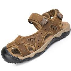Toko Jual Pinsv Pria Aqua Sepatu Sandal Trekking Sepatu Cokelat