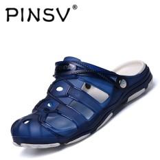 Pinsv Pria Modis Tide Sepatu Lubang Pantai Sepatu Sandal  Kasual-Internasional 818e055ba3