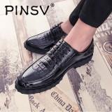 Spesifikasi Pinsv Pria Asli Sepatu Kulit Untuk Bisnis Sepatu Flat Formal Gaya Mewah Perhiasan Logam Campuran Intl Yang Bagus
