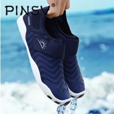 Beli Barang Pinsv Pria Outdoor Sepatu Bernapas Sepatu Air Renang Slip On Sepatu Yoga Sepatu Sepatu Pantai Hulu Trekking Barefoot Sepatu Intl Online