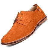 Beli Pinsv Fashion Pria Sepatu Oxford Sederhana Kuning Lengkap