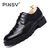 Harga Pinsv Pria Sepatu Formal Bisnis Kulit Kasual Sepatu Oxoford Sepatu Hitam Intl Terbaru