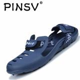 Toko Pinsv Pria Sandal Pantai Shoes Sandal Keren Non Slip Blue Intl Terlengkap Di Tiongkok