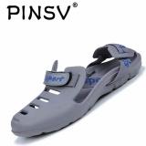 Spesifikasi Pinsv Sandal Pria Pantai Shoes Sandal Keren Non Slip Abu Abu Intl Beserta Harganya