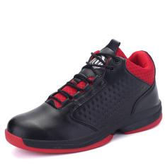 Beli Pinsv Sepatu Olahraga Pria Sepatu Basket Hitam International Online Terpercaya
