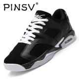 Spek Pinsv Baru Air Merahaman Pria Basket Shoes Midium Cut Basket Sneakers Sport Sepatu Hitam