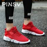 Beli Pinsv Pria Bernapas Sepatu Kasual Menjalankan Sepatu Red Intl Cicilan