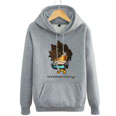 Pioneer Laki-laki Indonesia Ngumpul Here Jas Remaja Musim Gugur atau Dingin Kaos Sweater (Abu-abu)