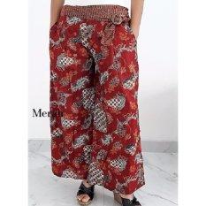 Pitakita Celana Batik Kulot Panjang Adinda [Merah]