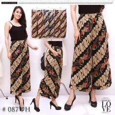pitakita celana batik kulot panjang Asifa-maroon