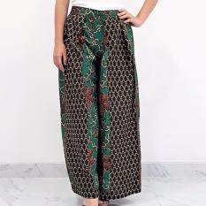 Pitakita Celana Batik Kulot Panjang Aurel -Hijau