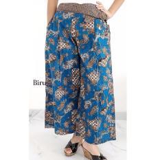 Pitakita Celana Batik Kulot Panjang [Biru]