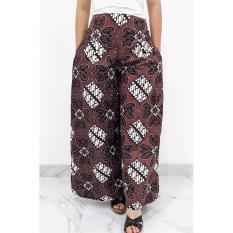 Pitakita Celana Batik Kulot Panjang Klok K01