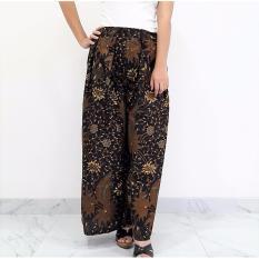 Harga Pitakita Celana Batik Kulot Panjang Lipit Cl01 Fullset Murah