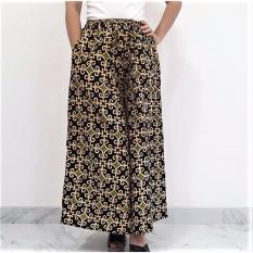 Pitakita Celana Batik Kulot Panjang Luks-Hijau