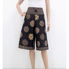 Spesifikasi Pitakita Celana Batik Kulot Pendek Korina Lengkap Dengan Harga
