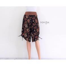 Jual Pitakita Celana Batik Kulot Pendek Monita Ungu Branded