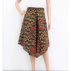 Ongkos Kirim Pitakita Celana Batik Kulot Pendek Olifia O7 Hijau Di Indonesia